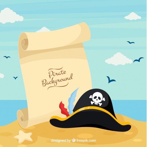 Bambini-pirati-con-pergamena
