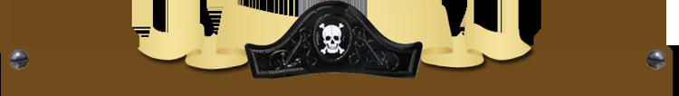 Cappello-pirata-con-legno